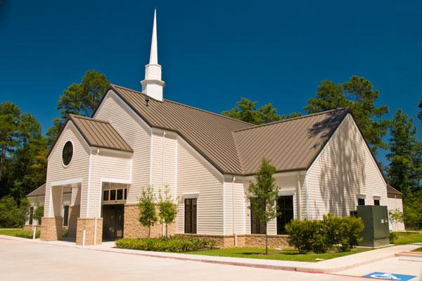 Audio visual lighting sound house of worship church for Church exterior design